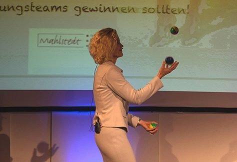 Auftritt, Präsentation, Wirkung - Training