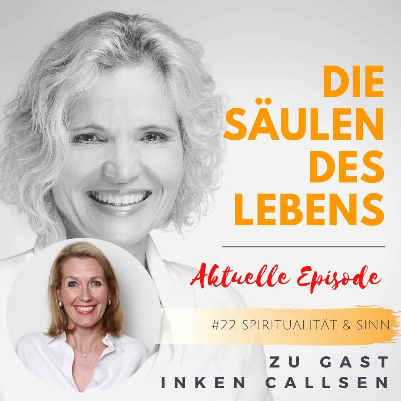 Podcast Säulen des Lebens zu Gast Inken Callsen