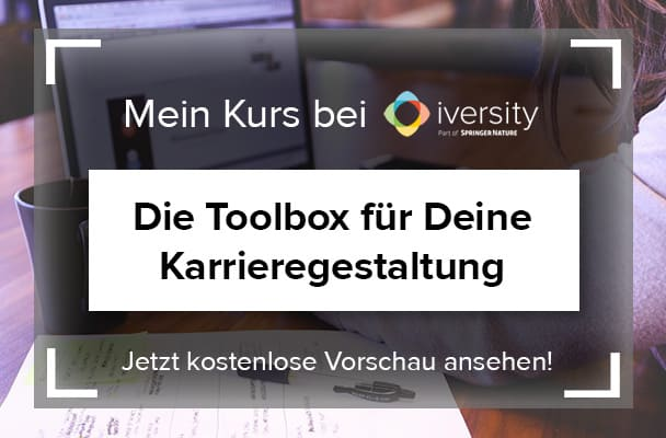 E-Learningkurs 'Die Toolbox für Deine Karrieregestaltung'